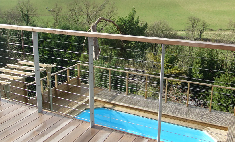 The Beauty and Benefits of a Stainless Steel Wire Rope Balustrading ...