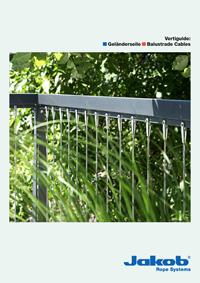 Jakob-Vertiguide – Vertical rope balustrades